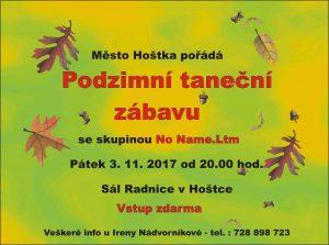 Podzimní taneční zábava @ Hoštka, sál Radnice | Hoštka | Ústecký kraj | Česko