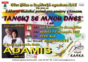 Tancuj se mnou dnes @ Bříza, sál KD | Bříza | Ústecký kraj | Česko