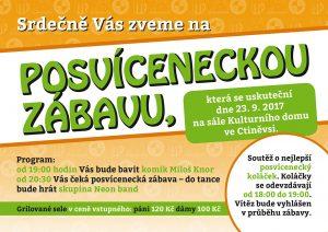 Posvícenská zábava @ Ctiněves, sál KD | Ctiněves | Ústecký kraj | Česko