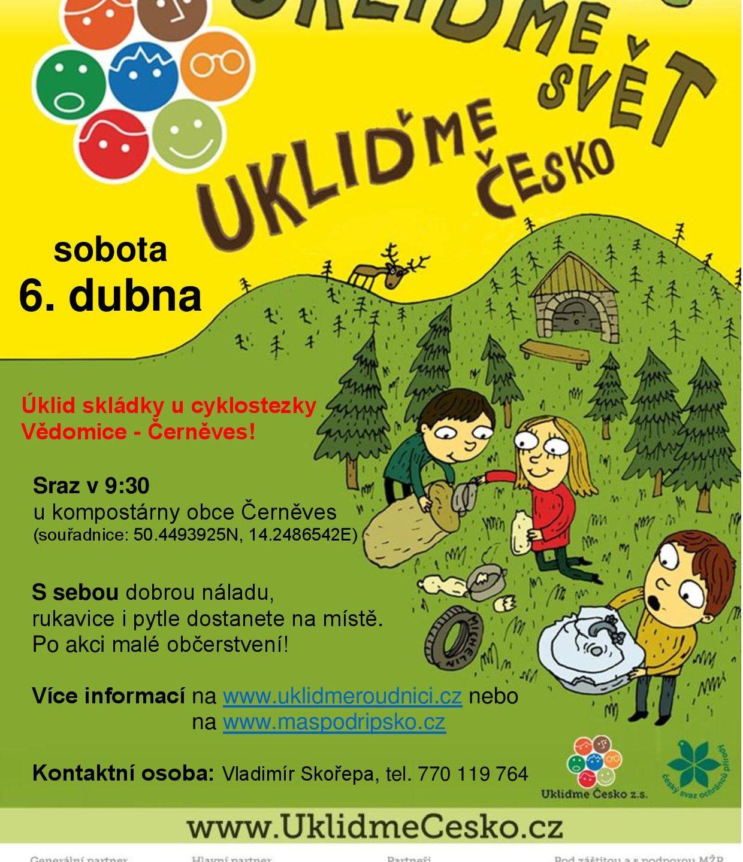 Ukliďme Česko 2019! Připojte se k nám.